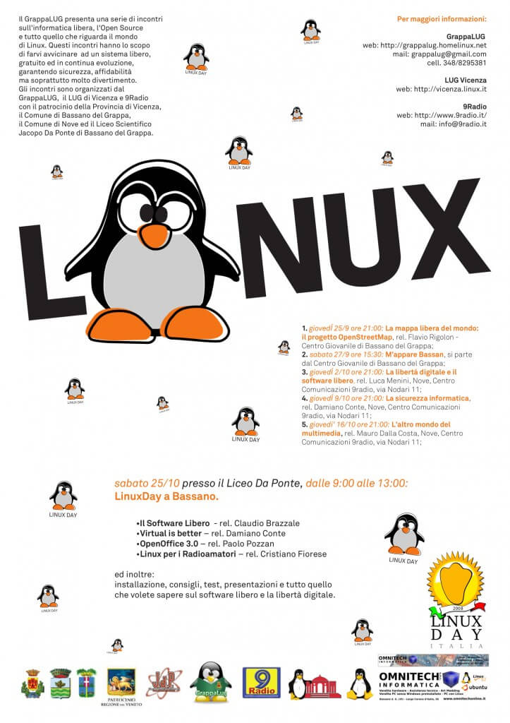 Linux day 2008
