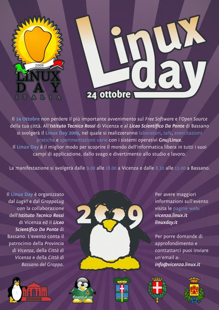 Linux day 2009