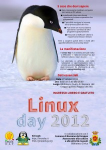Linux day 2012