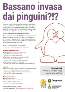 Locandina Linux Day 2014